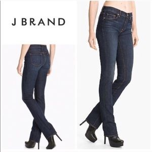 J Brand Cigarette 914 Dark Wash Stretch Jeans 26